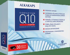 ALKAKAPS COENZYME Q10 FORTE